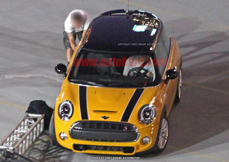 Mini Cooper S Spyshot