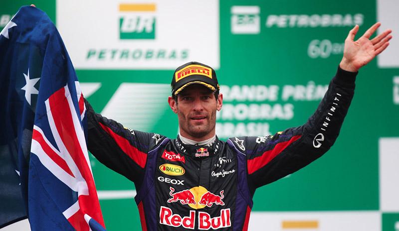 Mark Webber 2013
