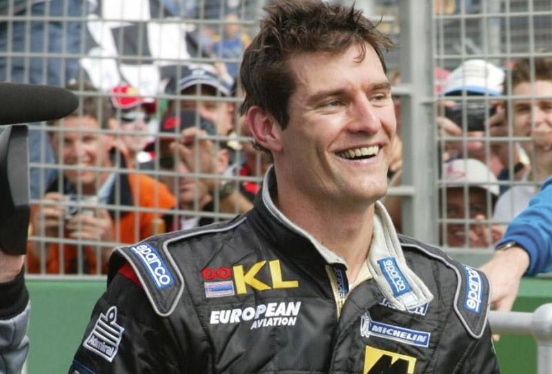 Mark Webber 2002
