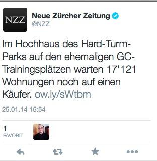 Tweet NZZ